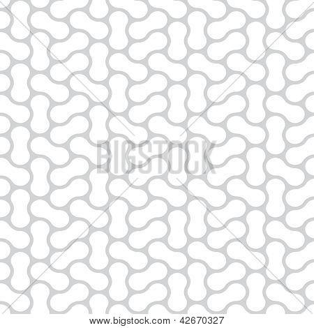 nahtloser Vektor einfache schwarz-weiß-Muster