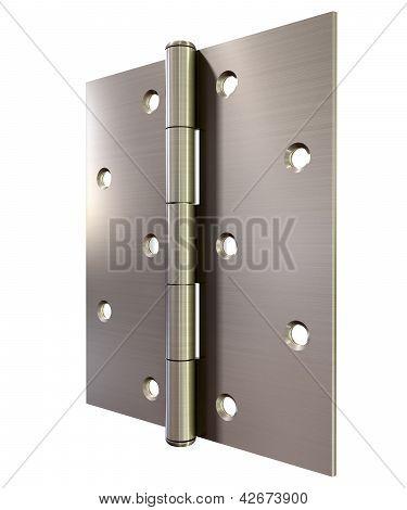 Metal Door Hinge Front