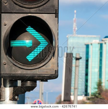 Vire à direita