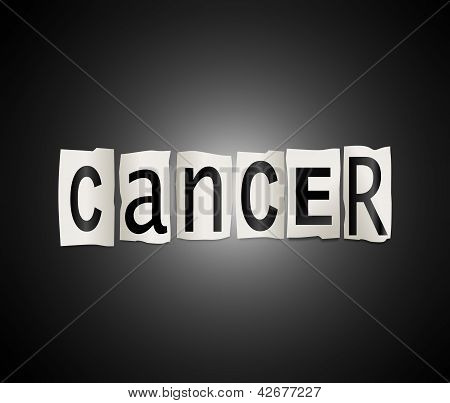Cancer Concept.