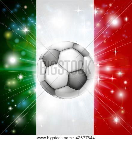Bandeira de futebol de Itália