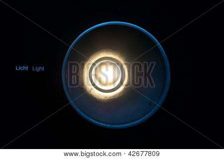 abstract light concept