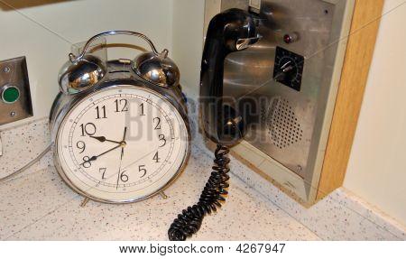 Relógio e rádio
