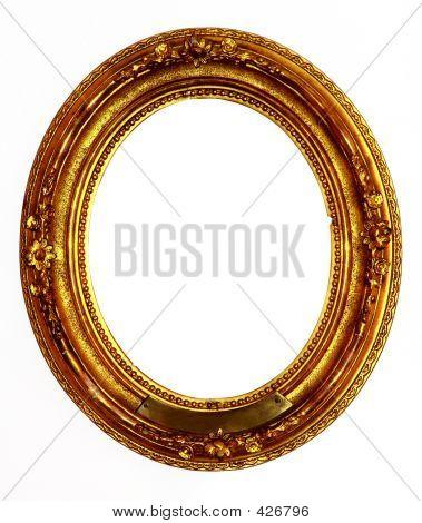 Alte goldener Rahmen