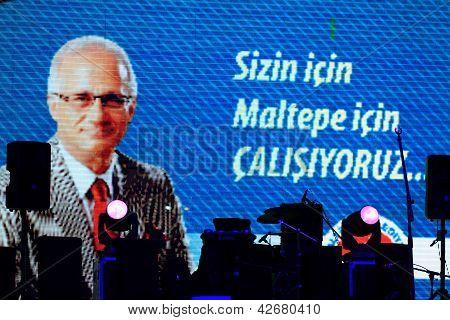 Maltepe Mayor Mustafa Zengin