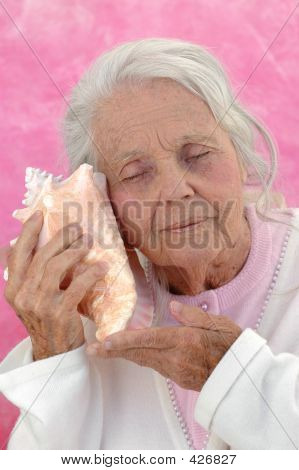 Great Grandmother Listening