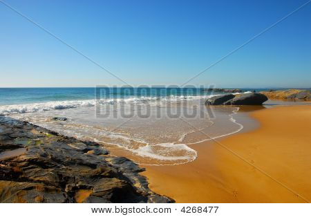 Isolated Beach