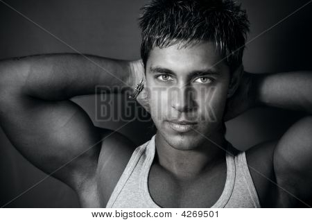 Muscular Handsome Man