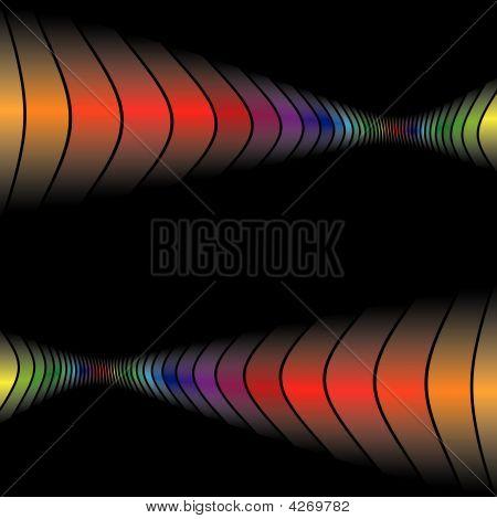 Quadro de paredes de bares Rainbow