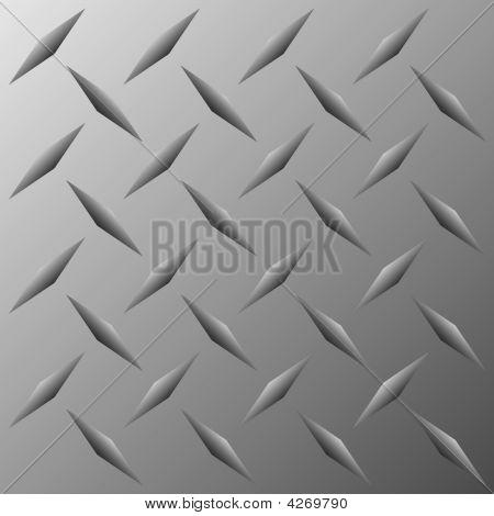 Vector Diamond Plate Texture