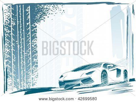 Sport car frame