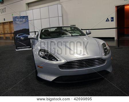 Aston Martin Marin Car On Display