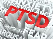 stock photo of veterans  - PTSD Concept - JPG