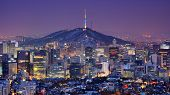 picture of seoul south korea  - Downtown skyline of Seoul - JPG
