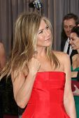 LOS ANGELES - FEB 24:  Jennifer Aniston arrives at the 85th Academy Awards presenting the Oscars at