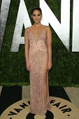 WEST HOLLYWOOD, CA - FEB 24: Olivia Munn at the Vanity Fair Oscar Party at Sunset Tower on February