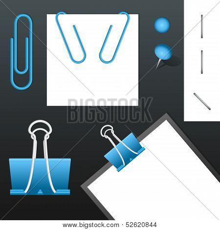 Set of Vector Staples