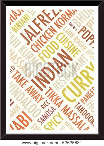 indian colourful   background picture frame