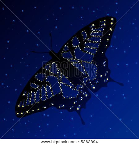Swallowtail constellation