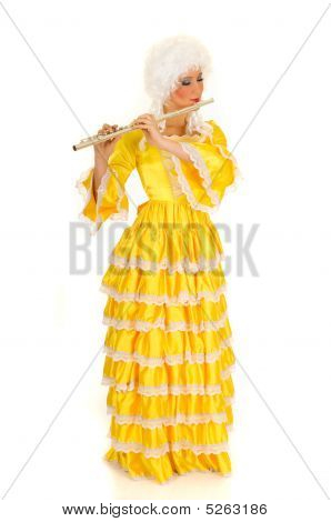 Baroque Flautist