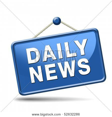 latest daily hot news breaking latest article or press release sticker or icon