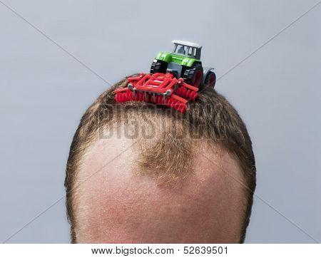 Hair Plowing