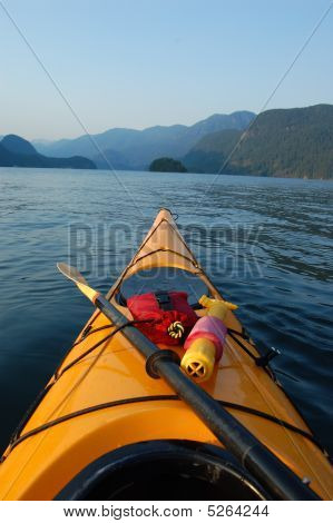 Kayaking In Deep Cove
