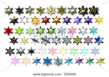 Illustarions Sheriff Star 01