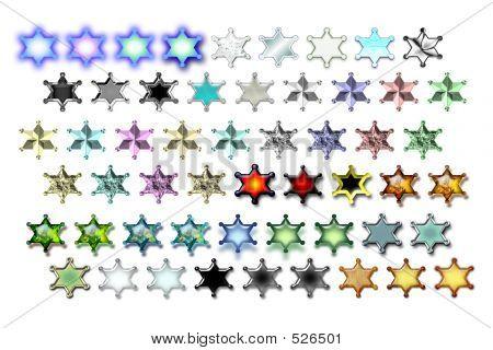 Illustarions Sheriff Star 02