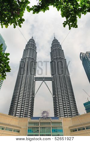 Petronas Towers and Suria KLCC in Kuala Lumpur