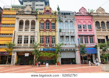 Old Buildings In Kuala Lumpur City Center