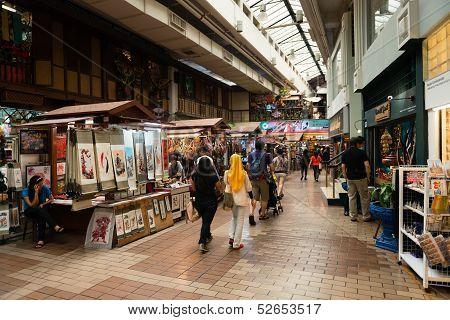 Kuala Lumpur Central Market Interior