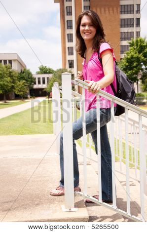 weibliche College-student
