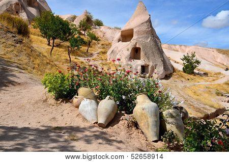fairy chimneys of Goreme