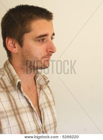 Young Man Gazing