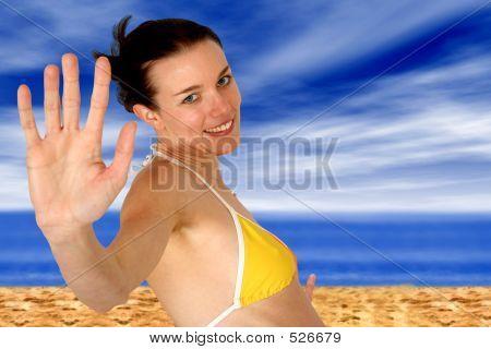 Beach Girl - Happy Summer