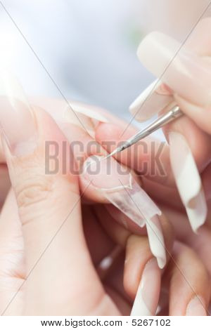 Beauty Salon: Manicure, Painting On Nail