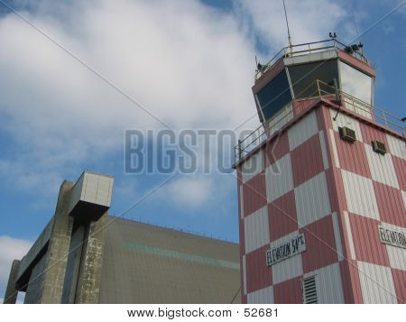 Control Tower With Hangar