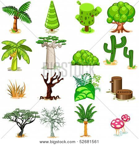 Tree Vector illustration Collection Pack
