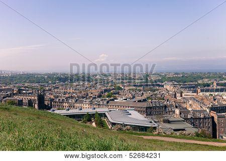 Panorama of Edinburgh City