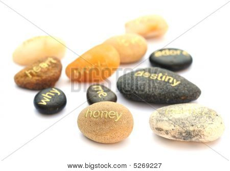 Stones With Words
