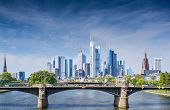 stock photo of frankfurt am main  - Skyline of Frankfurt - JPG