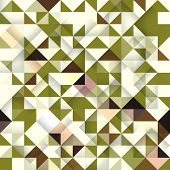 Seamless pattern of geometric shapes. Geometric vector background.