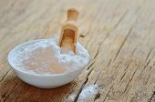 stock photo of neutral  - baking soda shoot in studio - JPG