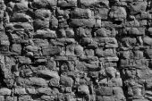 pic of fieldstone-wall  - The stone wall for old mansion background - JPG