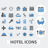 stock photo of motel  - hotel - JPG