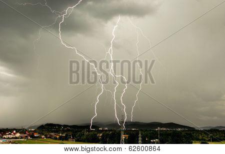 Many Lightning Bolts