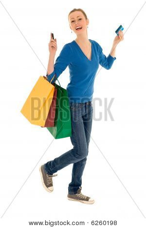 Happy shopper