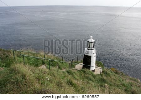 Lighthouse near Talland Bay, Cornwall