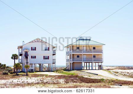 Suburban houses in Florida